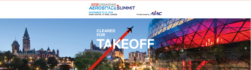 aiac 2018 canadian aerospace summit ottawa canada