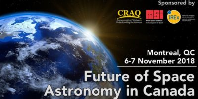 irex university of montreal future of space economy in canada workshop