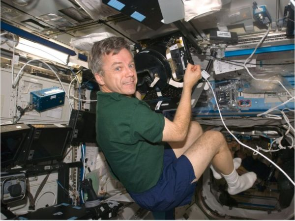 robert thirsk canadian astronaut international space station dont let go canada